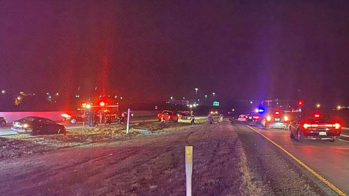 One man is dead and another is seriously injured after two motorcycles that were traveling at what authorities said was a high rate of speed collided late Wednesday night on U.S. Highway 190/Interstate 14 west of Killeen. (Photo by Eric Franklin)