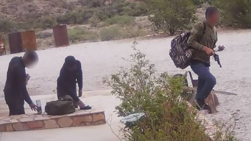 Border Patrol agents arrested three undocumented migrants who allegedly broke into a Texas home...