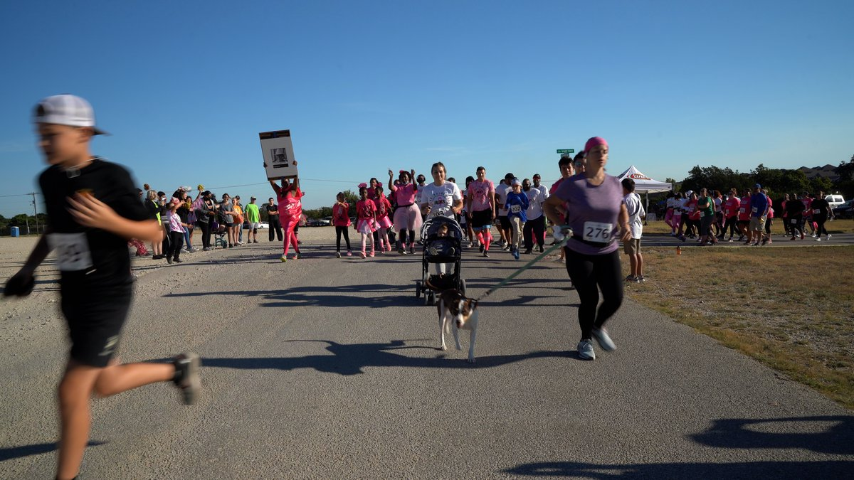 Pink Warrior Angels  of Central Texas is host its annual Pink Warrior Dash 5K at the Copperas...