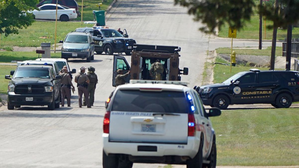 Gunfire was reported Wednesday in a neighborhood near two local schools where authorities were...