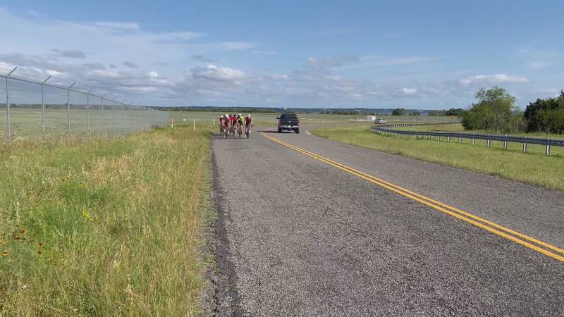 The Waco Bicycle Club said it's important for drivers and cyclists to be aware of each other...