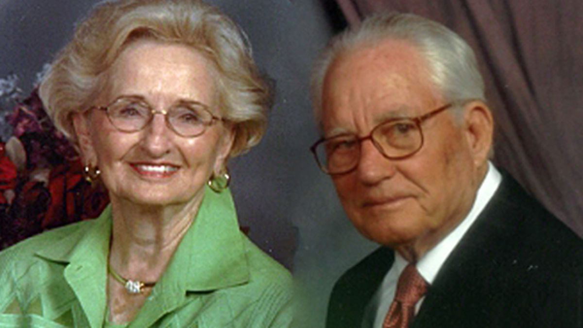 Hazel and Leonard Cherry died just hours apart. (Family photos)