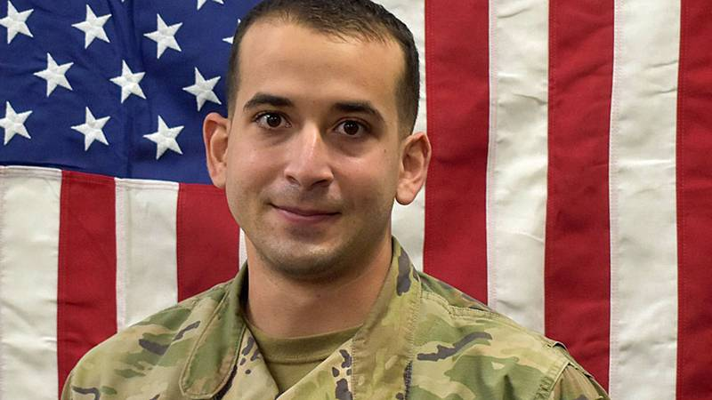 Sgt. Daniel Soto de Jesus, 28, was last seen on Monday.