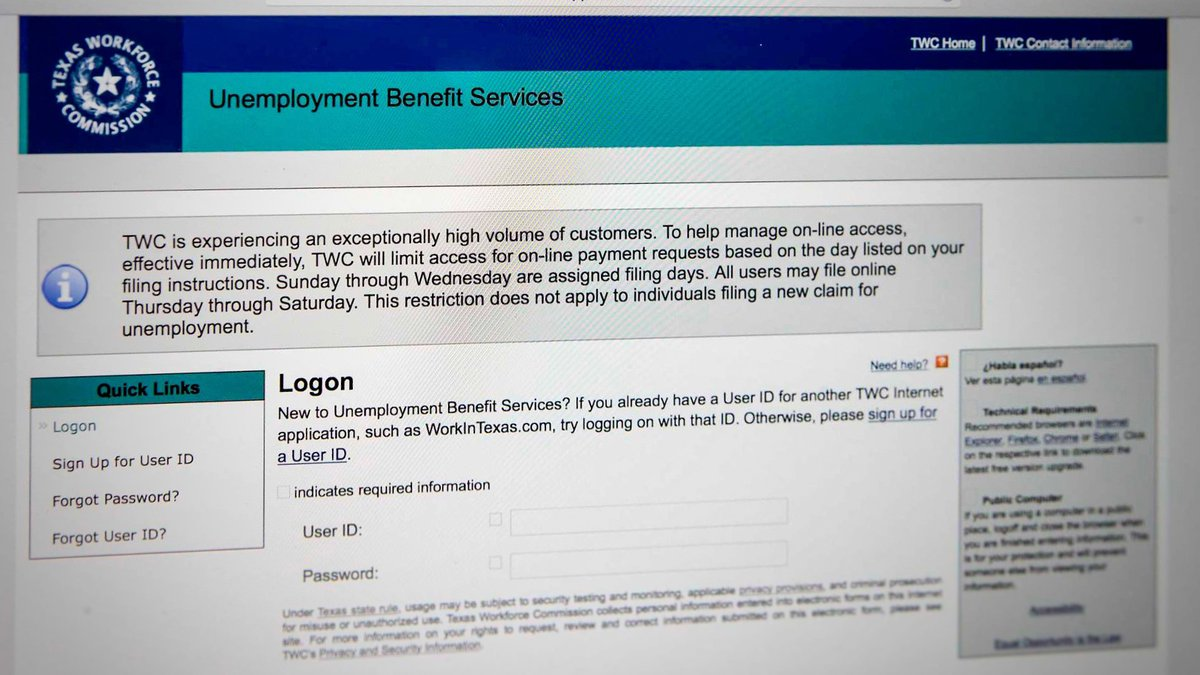 Unemployed Texans will soon see an additional $300 deposited into their accounts, from the...