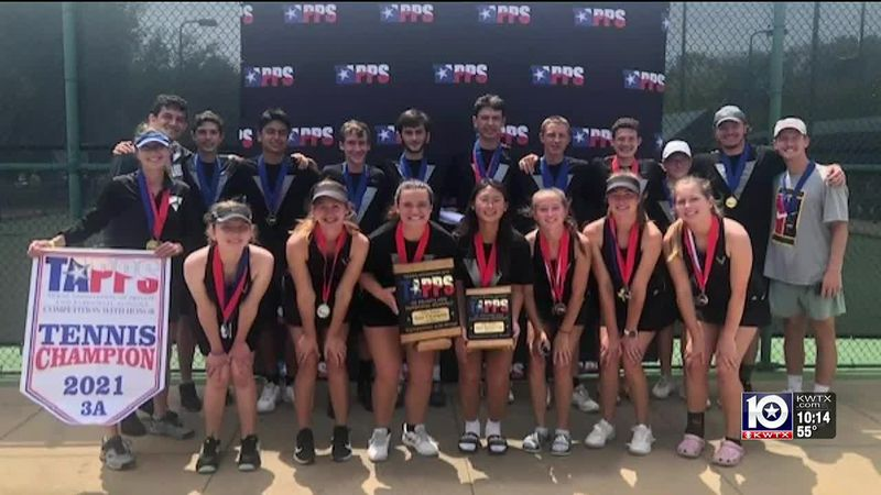 The Vanguard Tennis team competed at the State Championships and won in multiple ways.