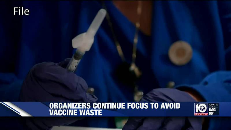 Local health authorities go to great lengths to avoid wasting COVID-19 vaccines