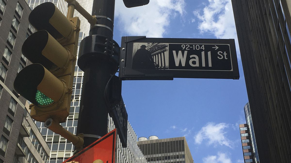 Stocks ended a bumpy day mostly lower Friday on Wall Street. (AP/file)