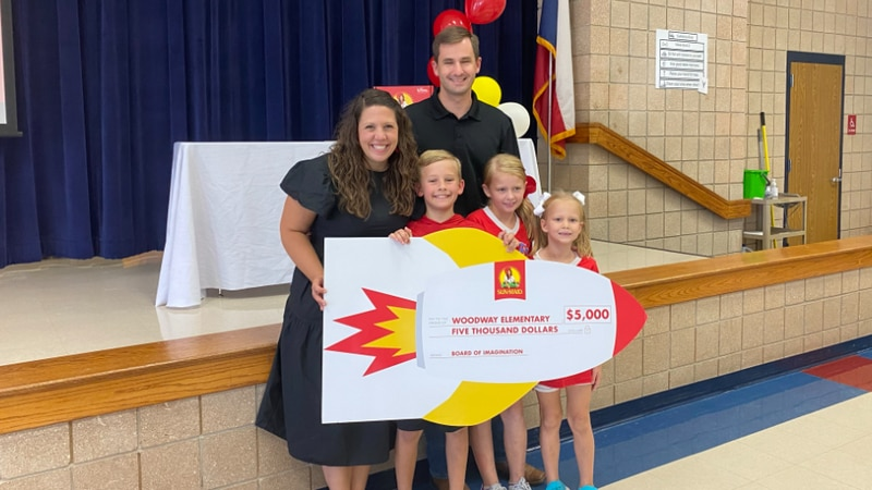 A fourth grade student at Woodway Elementary in the Midway Independent School District has been...