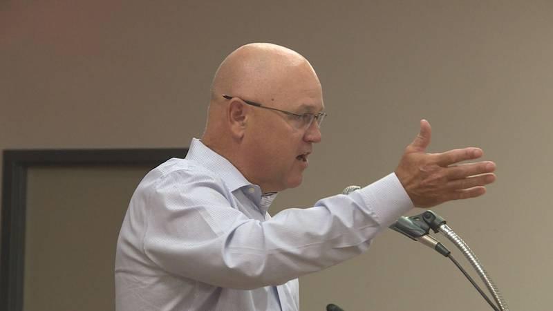 Rep. Kyle Kacal gave the West Kiwanis Club a legislative update Wednesday.