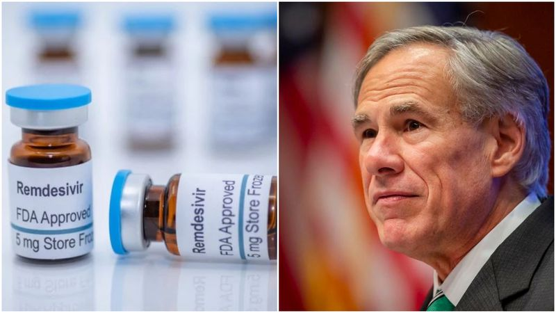 Texas Governor Greg Abbott said more cases of the antiviral drug Remdesivir are being delivered...