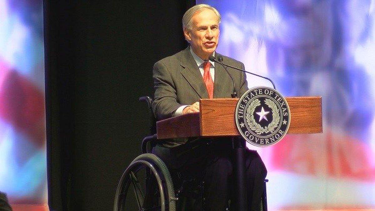 Texas Governor Greg Abbott (Source: KAUZ)
