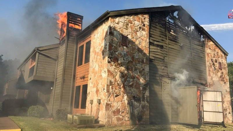 Temple Fire & Rescue responded to reports of a structure fire, at 4802 S 31st Street, at the...