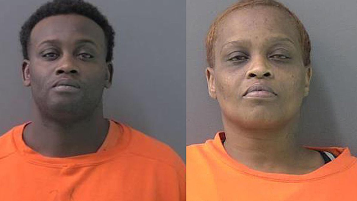 Devyone Montrell Green (left) and Indrel Shawnea Green. (Jail photos)