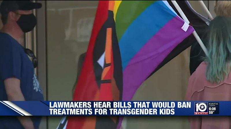 State lawmakers consider bills that would ban certain medical treatments for transgender kids