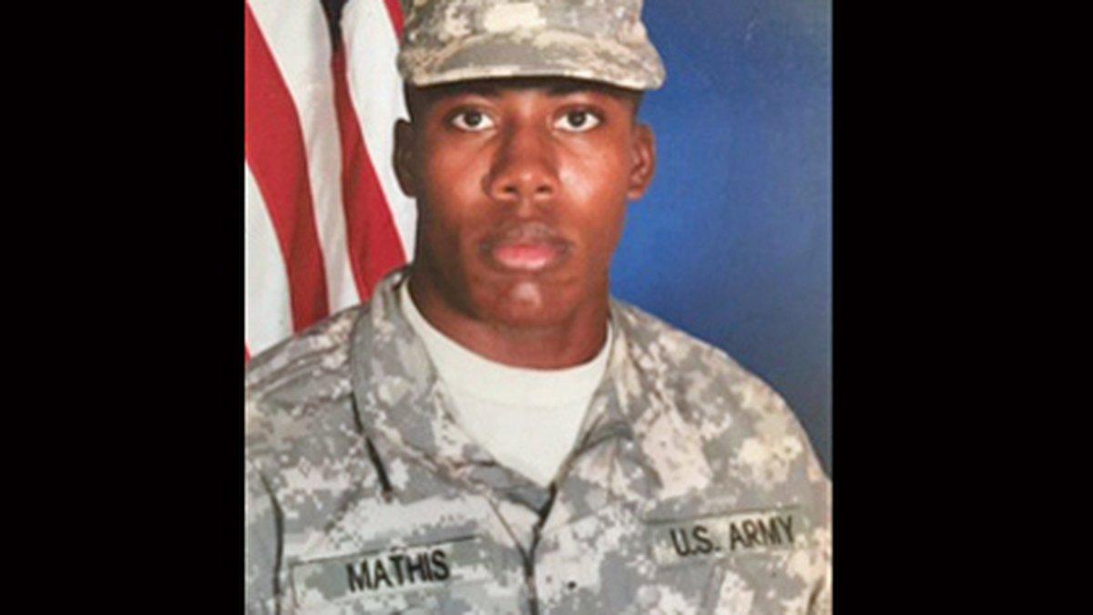 Spc. Deangelo Marquis Mathis. (Fort Hood photo)