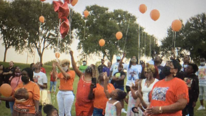 The city of Waco partnered with McLennan County to host a memorial for National Gun Violence...