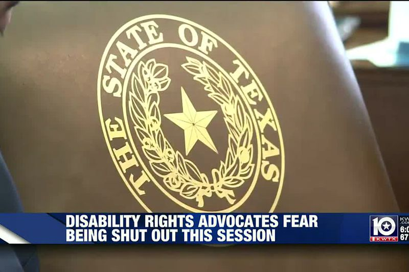 Disability advocates worry about access to lawmakers during session