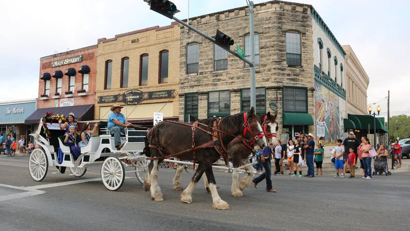 McGregor Founder's Day parade