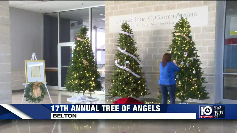 Dozens of families came to the Bell County Expo Center Monday for the 17th annual 'Tree of...
