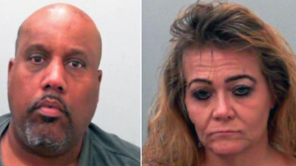 Joseph Barnett (left) and Glenda Guidry, both of Killeen, are wanted in connection with the thefts of checks and credit cards from area mailboxes.