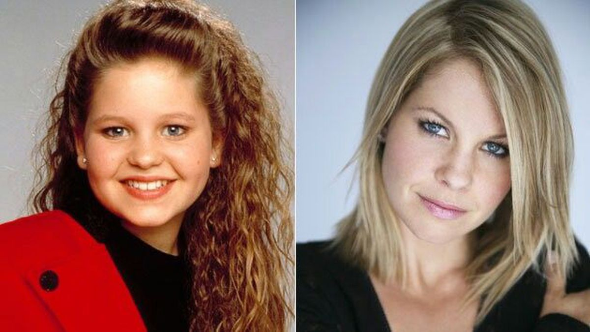 Then and now: former Full House actress Candace Cameron Bure