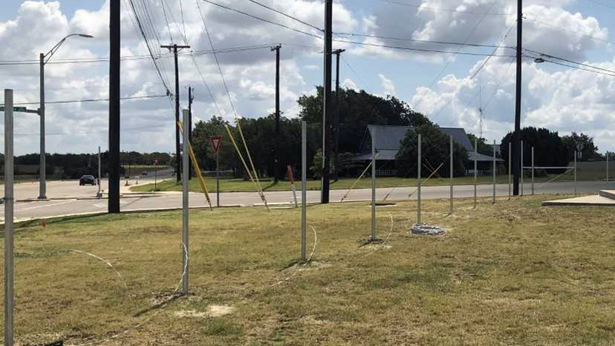 Work on a year-long project to install perimeter fencing around all Killeen ISD campuses is...