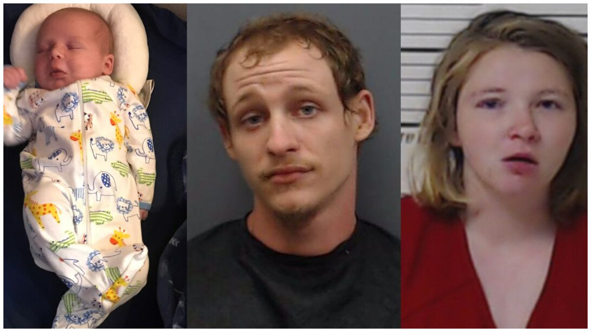 Authorities are asking for information on the whereabouts of one-month-old Gatlyn Baker and his parents, Kenny and Chelsea Baker.
